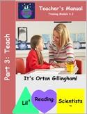 Teacher Training Manual (Module 6.2) Part 3: Teach (OG)