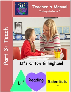 Teacher Training Manual (Module 6.2) Part 3: Teach (OG)