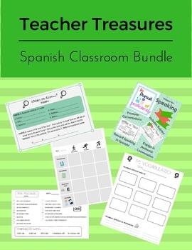 Bundle Teacher Treasures: Spanish Teacher Basics