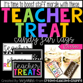 Teacher Treat Candy Jar Tags