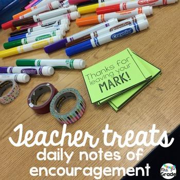 Teacher Treat Tags