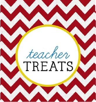 Teacher Treats Label