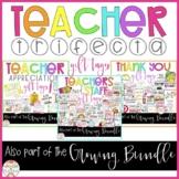 Teacher Trifecta GIFT TAGS set
