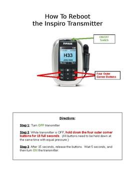 Teacher User Guide to Reboot Phonak Inspiro FM System