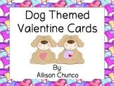 Teacher Valentine Cards- Dog themed