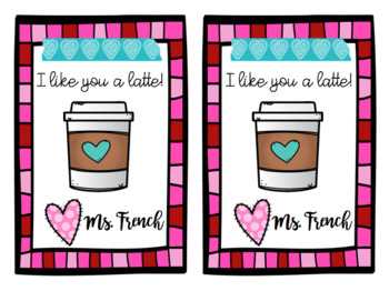 photograph regarding Teacher Valentine Printable named Instructor Valentine Printable through Amber French Lecturers Spend