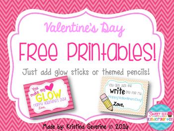 Teacher Valentine's Day Printables {Freebie}