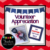 Teacher & Volunteer Appreciation Gift Tag, Thank You Pennant, and Quotes