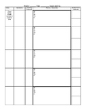 Teacher Weekly Lesson plan template w/ example