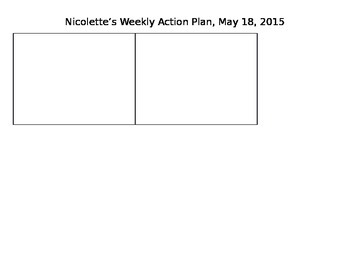 Teacher Weekly Organization & Productivity Planner