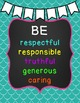 Class Rules, Bookmarks, Homework & Hall Passes