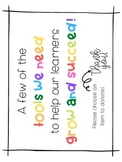 Teacher Wish List/ Supply Donation Labels!