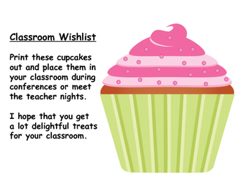 Teacher Wishlist