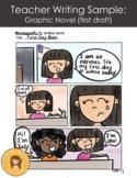 Teacher Writing Samples: Graphic Novel