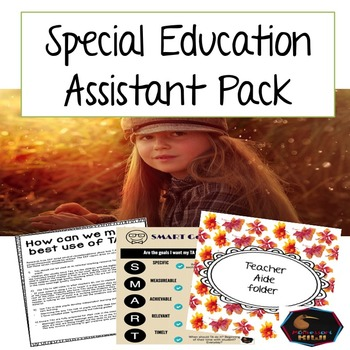 Special Education Assistant pack
