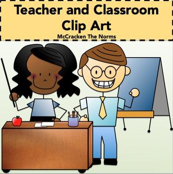 Teacher and Classroom Clip Art