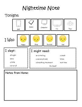 Teacher and Parent Communication Page