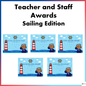 Teacher and Staff Awards