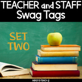 Teacher and Staff Brag Tags - SET TWO - Boost Faculty Morale!