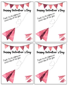 Teacher and Staff Valentine's Day Cards