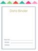 Teacher and Student Data Binder System 2 (Editable)