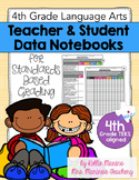 Teacher and Student Data Notebook (Texas 4th Grade Language Arts & Reading TEKS)