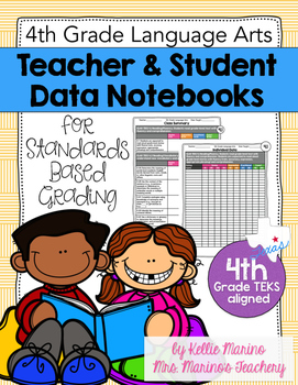 Teacher and Student Data Notebook (Texas 4th Grade Languag