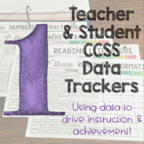 Teacher and Student Data Trackers 1st