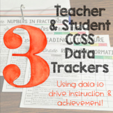 Teacher and Student Data Trackers 3rd