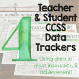 Teacher and Student Data Trackers 4th