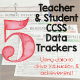 Teacher and Student Data Trackers 5th