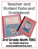 Teacher and Student Data and Gradebook (Texas 3rd Grade Math TEKS)