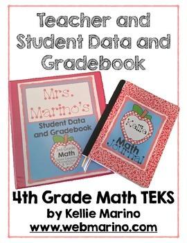 Teacher and Student Data and Gradebook (Texas 4th Grade Math TEKS)