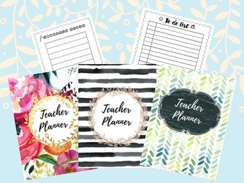 Teacher binder {Editable edition+PDF}