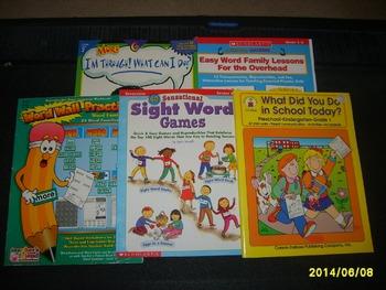 Teacher books for sale!