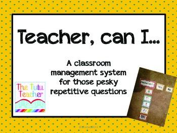 Teacher, can I...