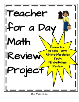 Teacher for a Day Math Review Project