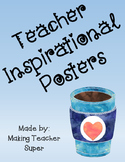 Teacher inspirational posters- coffee themed #spedtreats1
