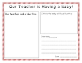 Teacher is Having a Baby Letter