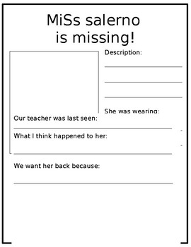 Teacher is Missing!