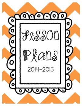 Teacher lesson plan binder