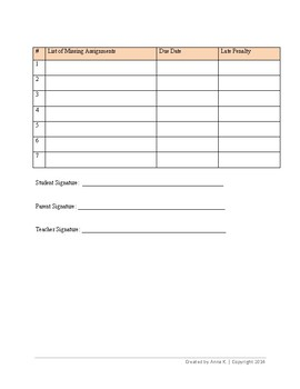 Teacher logs and forms