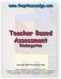 Teacher made assessment/Kindergarten