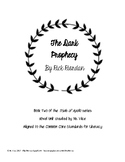 Teacher novel guide for Rick Riordan's The Dark Prophecy
