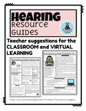 Teacher of the Deaf/HH Handouts: Classroom and Virtual Lea