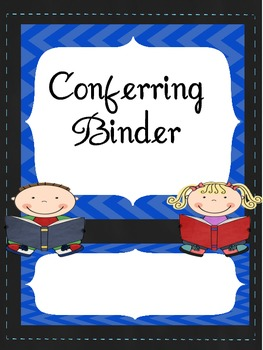 Teacher or Student Binder Cover Sheets