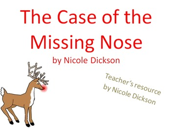Teacher packet: Case of the Missing Nose (bullying)