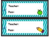 Classroom  pass