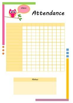 Editable Teacher planner 2014 - 2015
