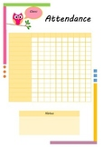 Editable Teacher planner 2014 - 2015